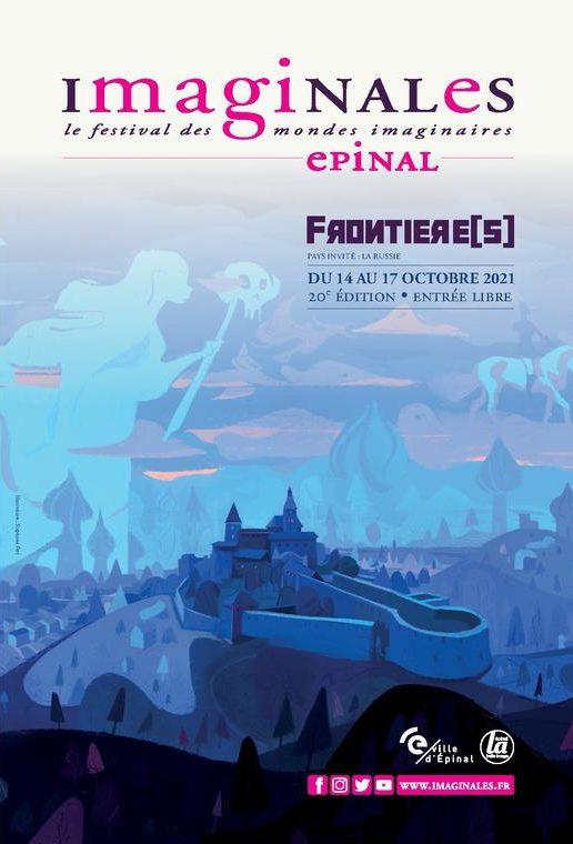 Affiche des Imaginales d'Epinal 2021