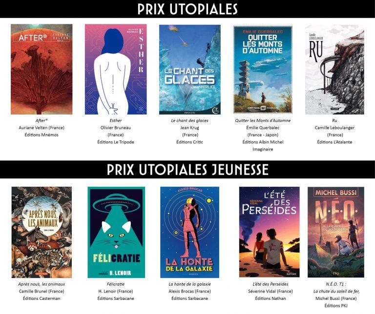 Affiche des Prix Utopiales 2021