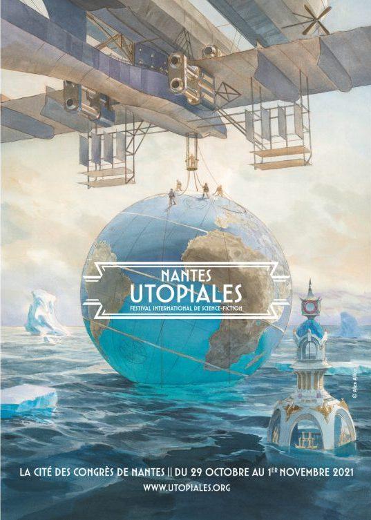 affiche Utopiales 2021